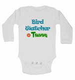 Bird Watcher in Training - Long Sleeve Baby Vests for Boys & Girls