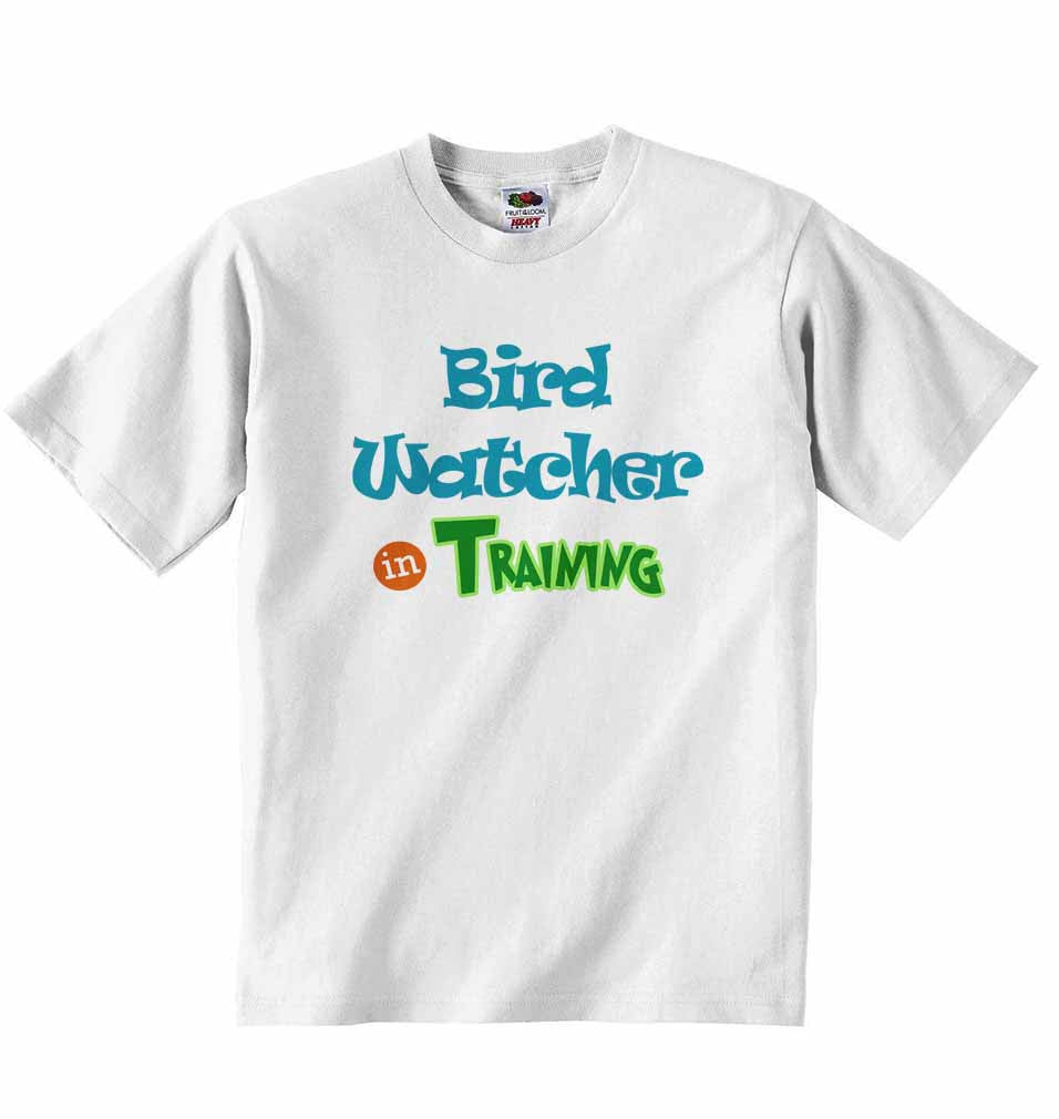 Bird Watcher in Training - Baby T-shirt