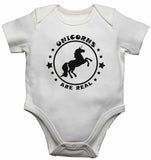Unicorns are Real - Baby Vests Bodysuits for Boys, Girls
