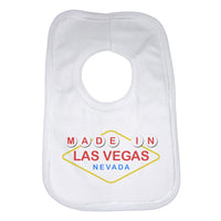 Made In Las Vegas Nevada Baby Bibs