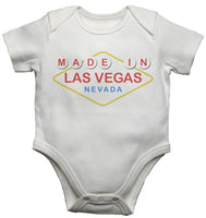 Made In Las Vegas Nevada Baby Vests Bodysuits