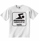 Swimmer in The Making - Baby T-shirt
