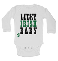 Lucky Irish Baby Long Sleeve Baby Vests