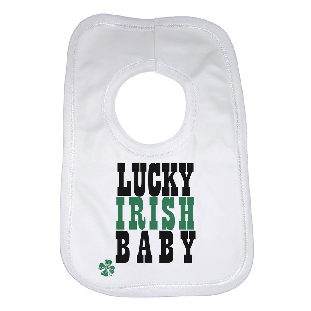 Lucky Irish Baby Baby Bibs