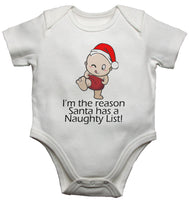 I am The Reason Santa has a Naughty List Baby Vests Bodysuits