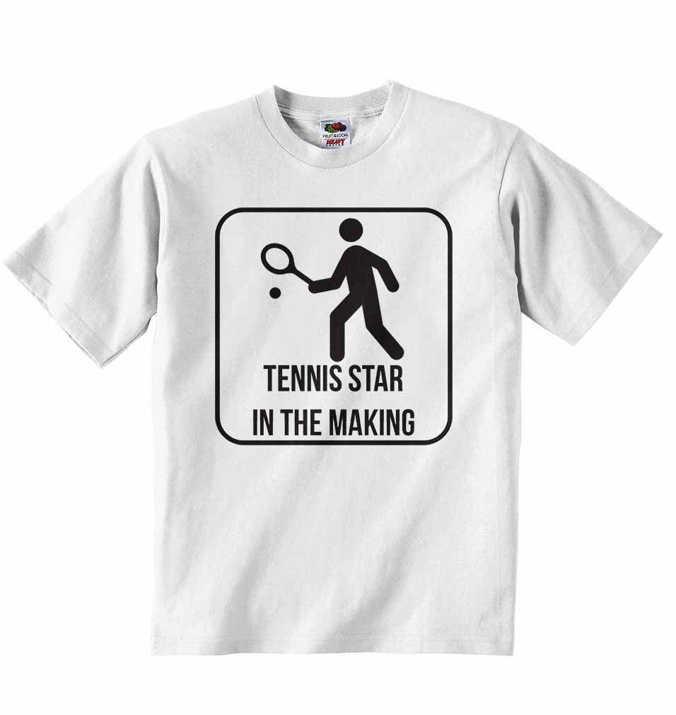 Tennis Star in The Making - Baby T-shirt