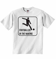 Footballer in The Making - Baby T-shirt