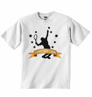 A Tennis Star is Born - Baby & Childs T-shirt
