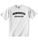 Newcastle Born and Bred - Baby T-shirt