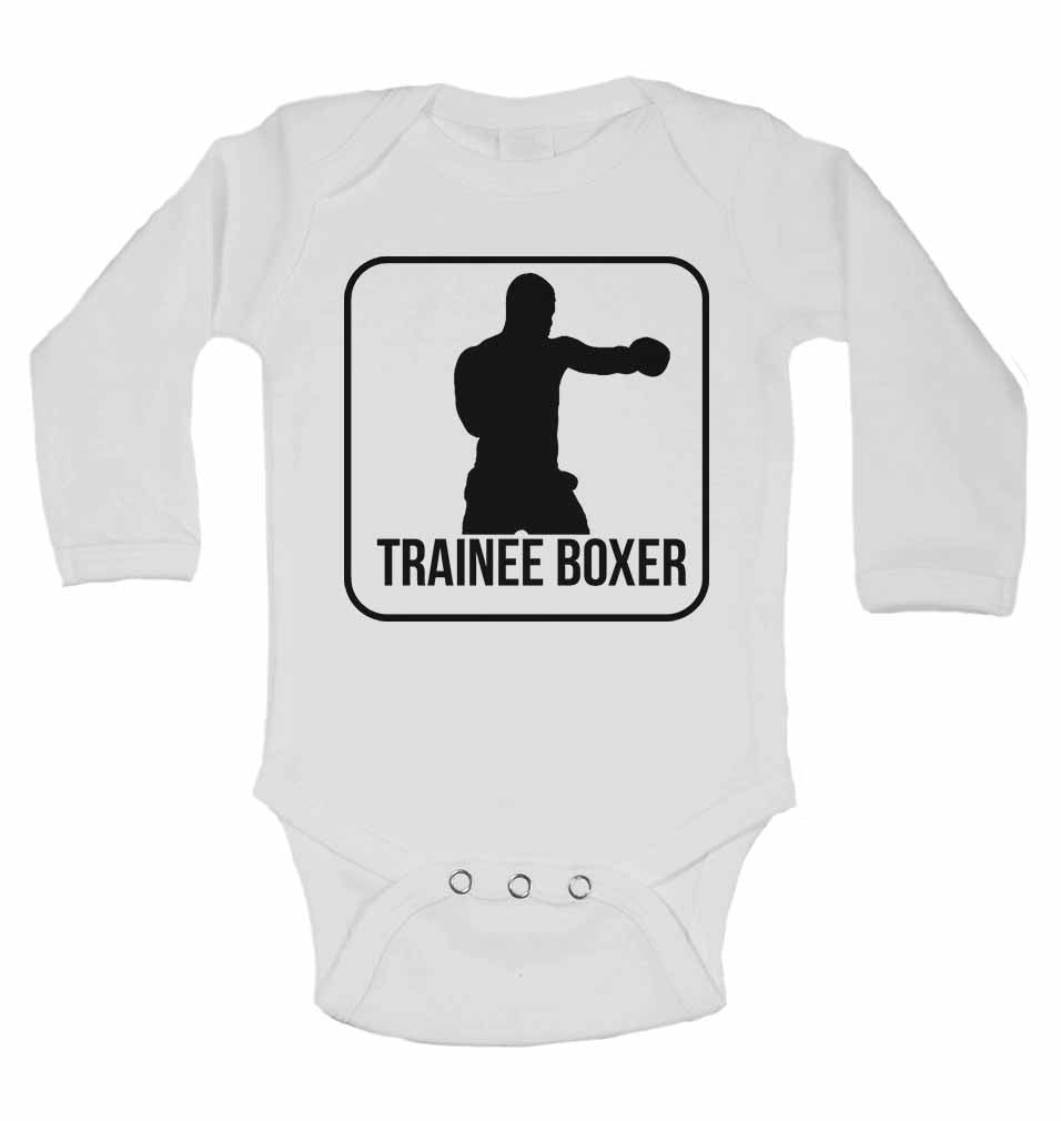 Trainee Boxer - Long Sleeve Baby Vests