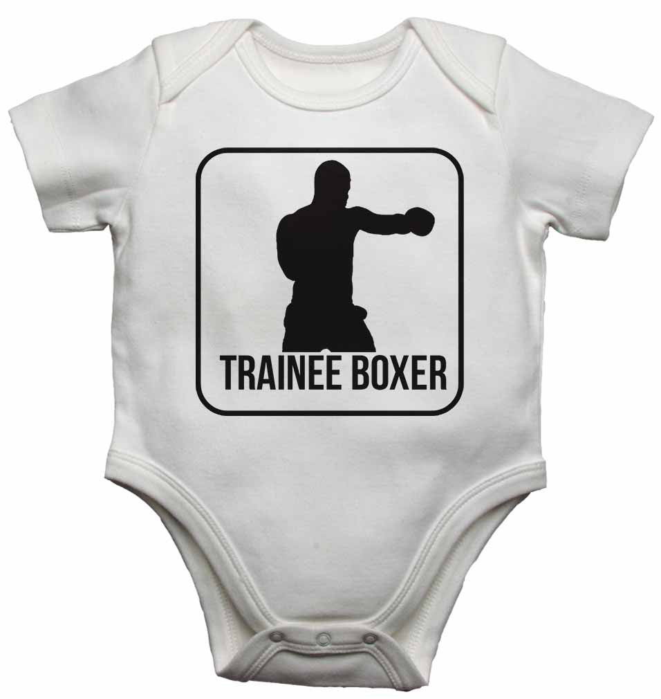 Trainee Boxer - Baby Vests Bodysuits for Boys, Girls