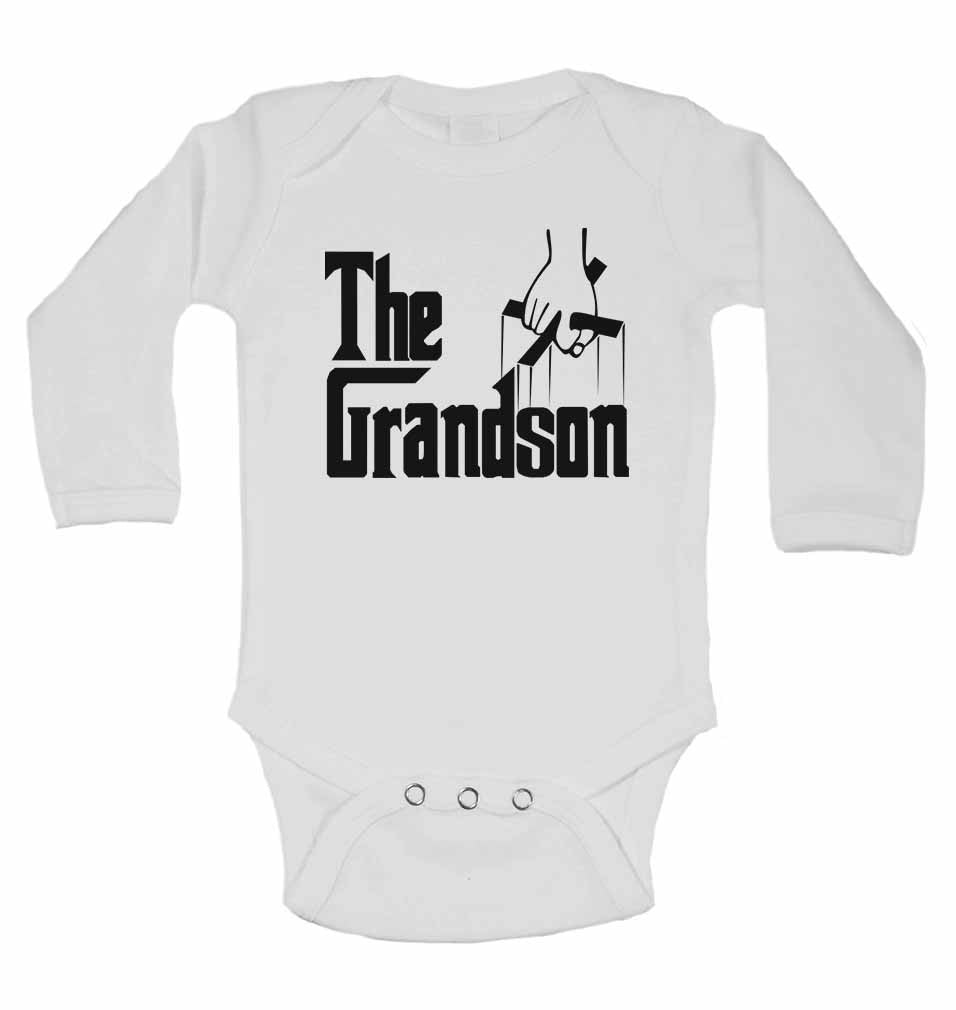 The Grandson - Long Sleeve Baby Vests