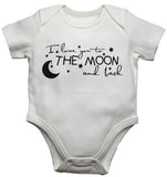 I Love You To The Moon and Back Baby Vests Bodysuits