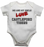 Me and My Uncle Love Castleford Tigers - Baby Vests Bodysuits for Boys, Girls