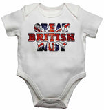 Great British Baby - Baby Vests Bodysuits for Boys, Girls