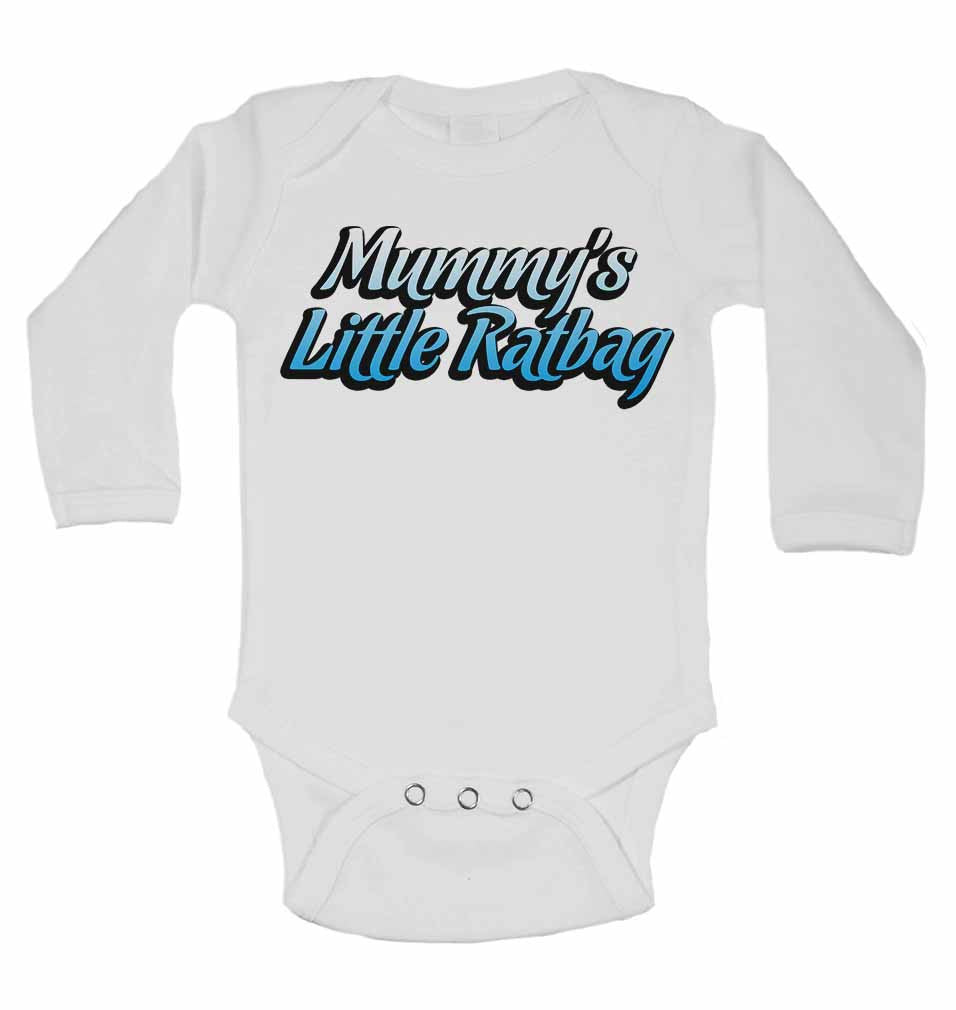 Mummy's Little Ratbag - Long Sleeve Baby Vests