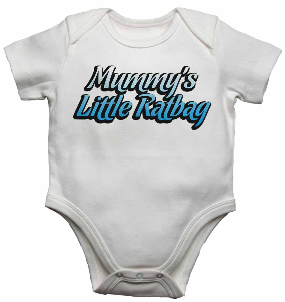 Mummy's Little Ratbag - Baby Vests Bodysuits for Boys, Girls