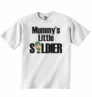 Mummy's Little Soldier - Baby T-shirt