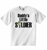 Daddy's Little Soldier - Baby T-shirt