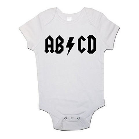 ABCD Baby Vests Bodysuits