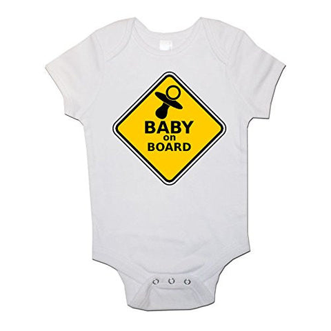 Baby On Board Baby Vests Bodysuits