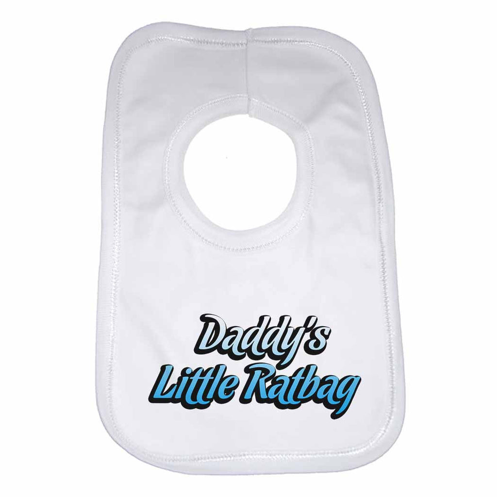 Dadddy's Little Ratbag Boys Girls Baby Bibs