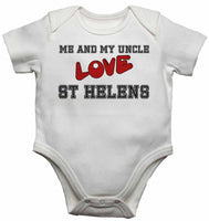 Me and My Uncle Love St Helens - Baby T-shirt