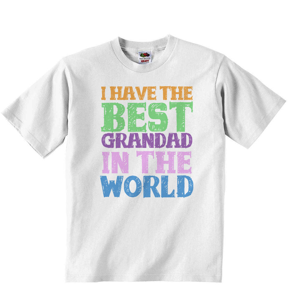 I Have the Best Grandad in the World - Baby T-shirt