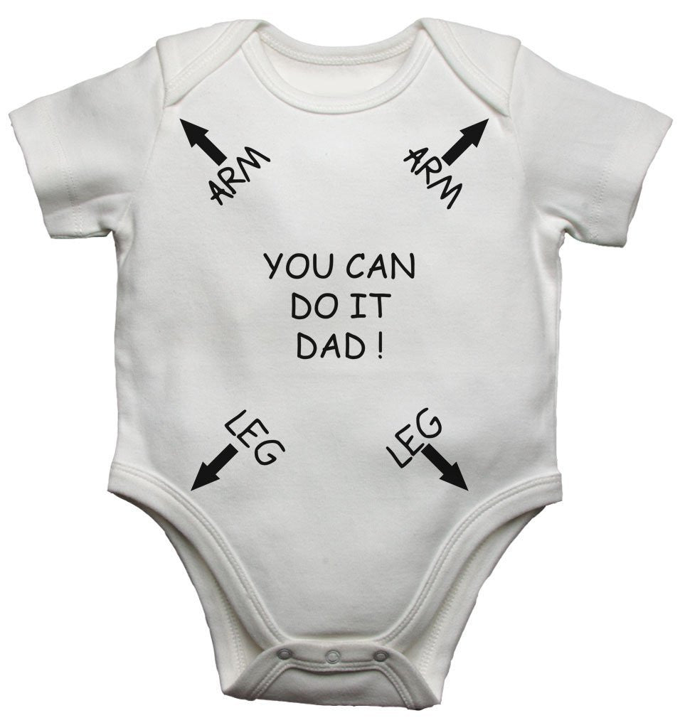 Instructions For Dad Baby Vests Bodysuits