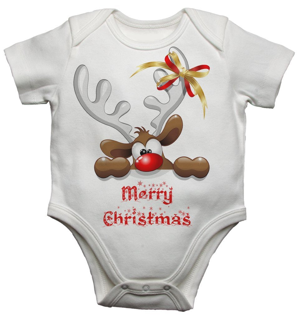 Merry Christmas Baby Vests Bodysuits