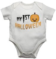 My 1st Halloween Baby Vests Bodysuits
