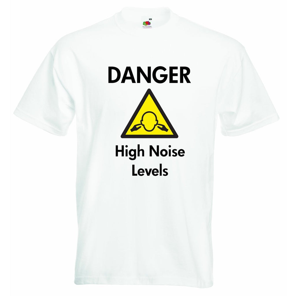 Danger High Noise Levels Baby T-shirt
