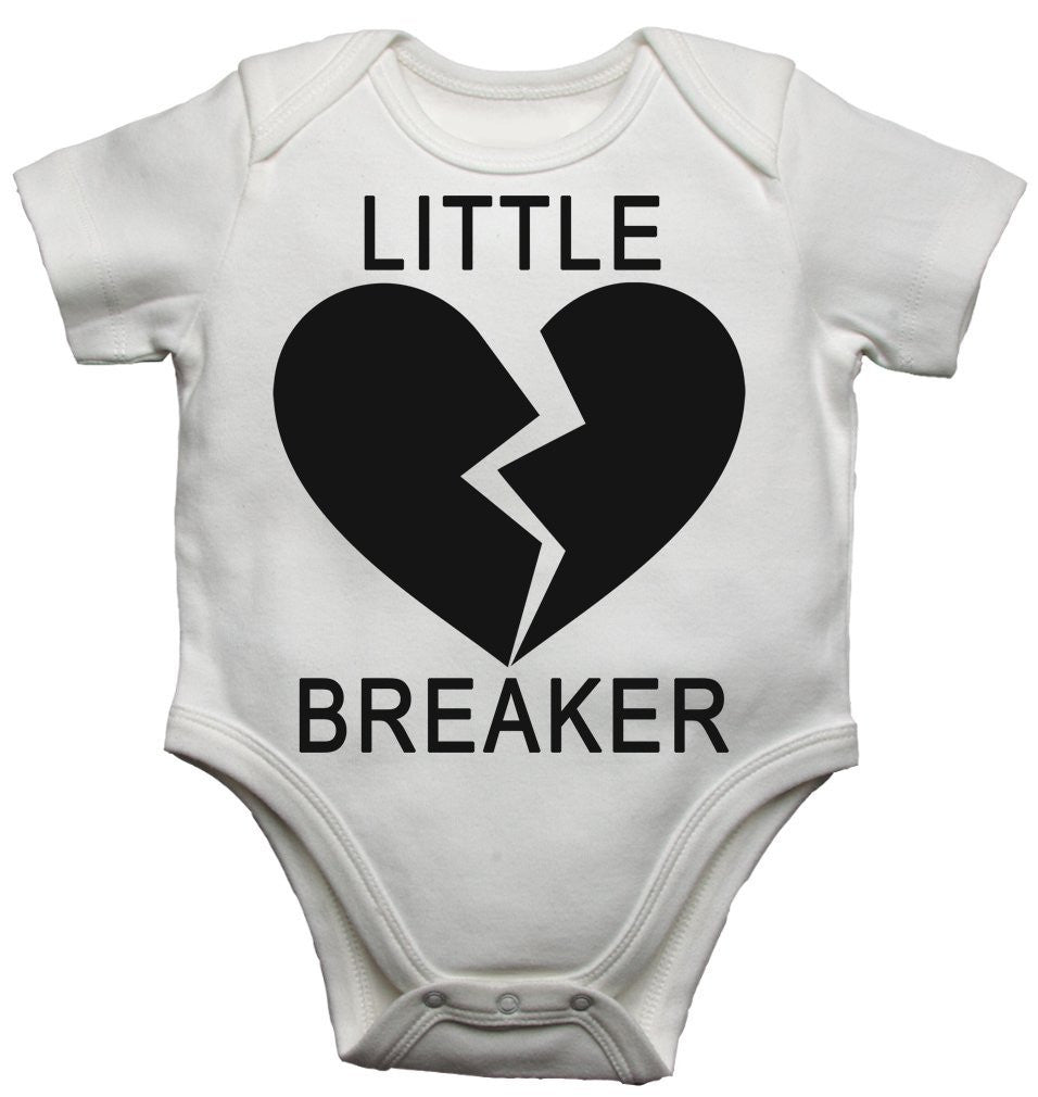 Little Heart Breaker Baby Vests Bodysuits