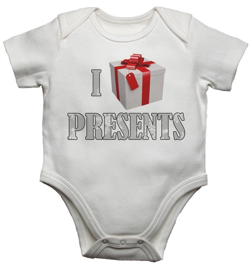 I Love Presents Gift Baby Vests Bodysuits