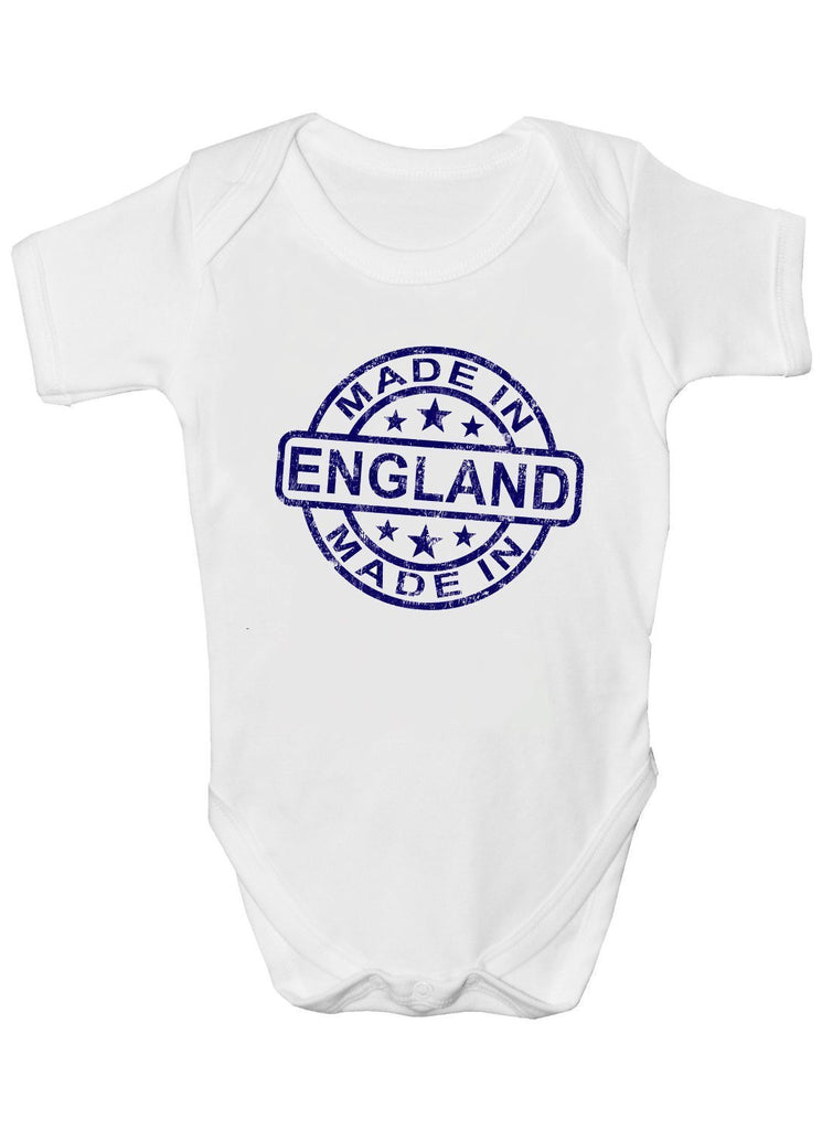 Made in England Baby Vests Bodysuits