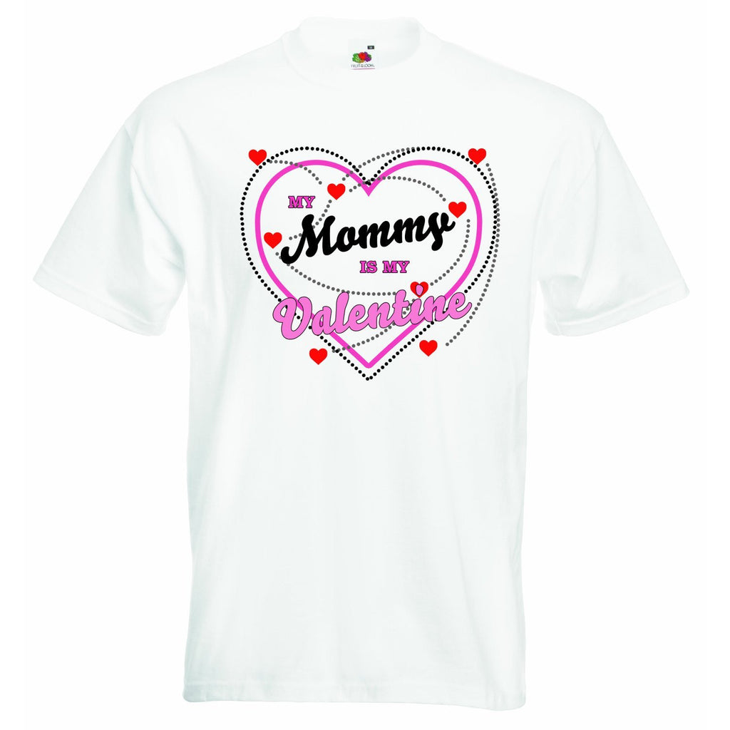 My Mummy is My Valentine Baby T-shirt