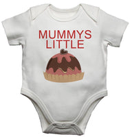 Mummys Little Christmas Pudding Baby Vests Bodysuits