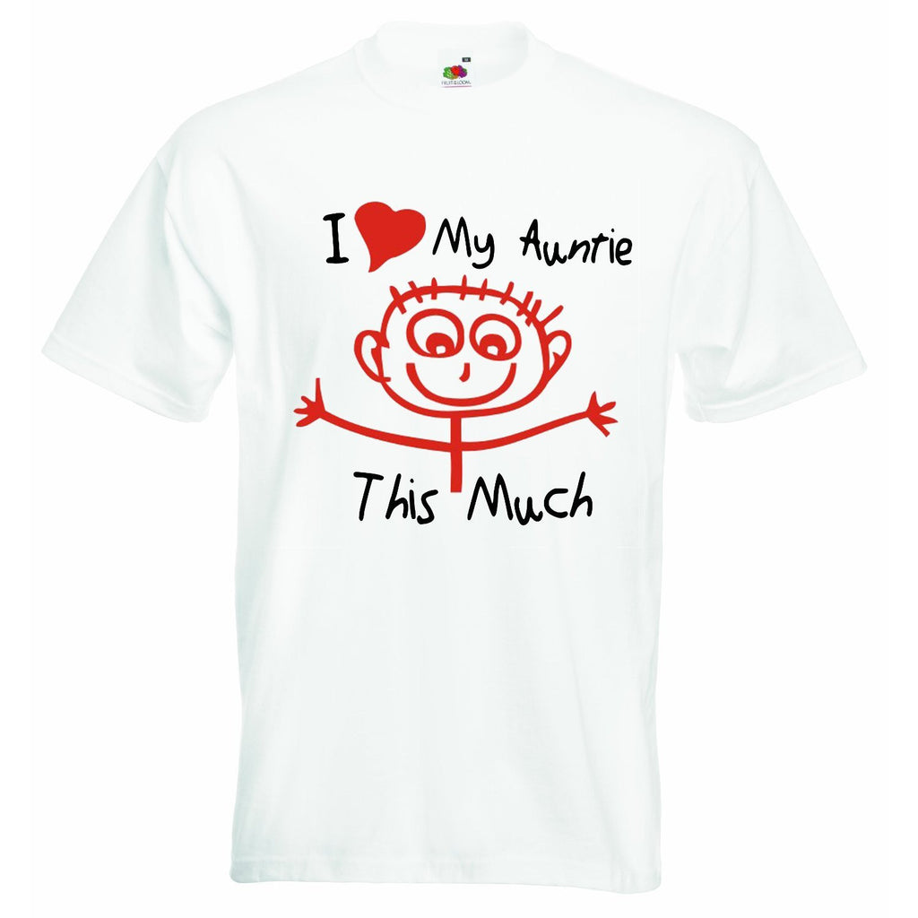I Love My Auntie this Much Unisex T-shirt