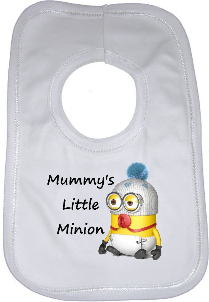 Mummys Little Minion Baby Bib