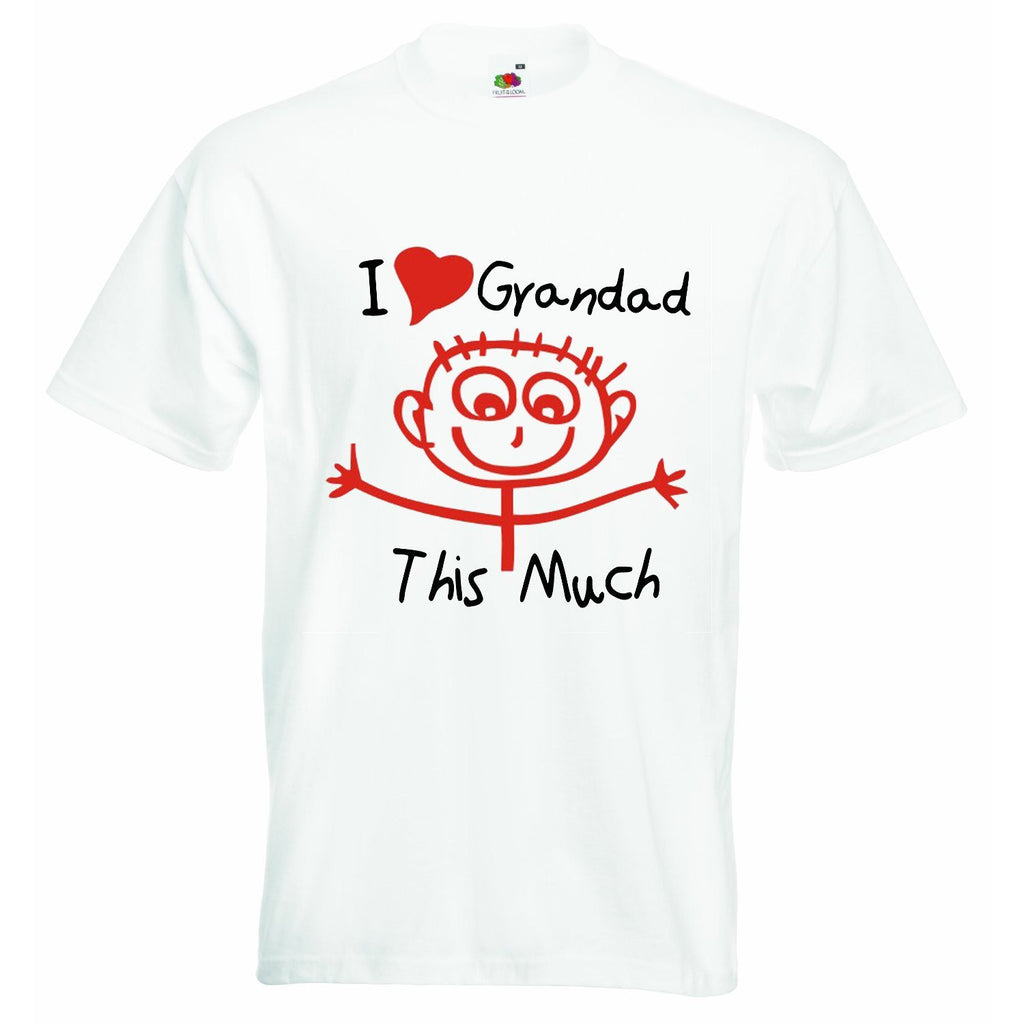 I Love Grandad This Much Baby T-shirt