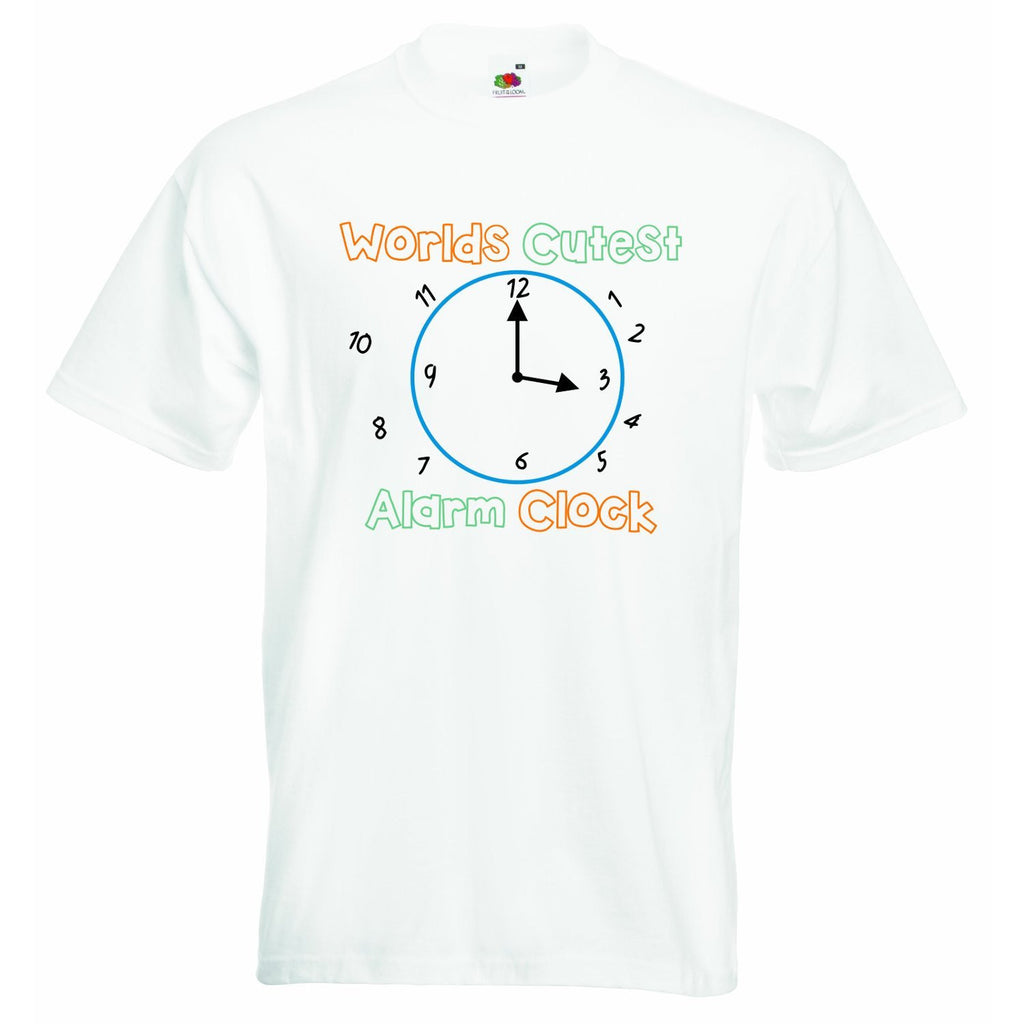 Worlds Cutest Alarm Clock Unisex T-shirt