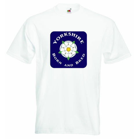 Yorkshire Born and Bred Unisex T-shirt