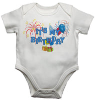 It's My Birthday - Boys Baby Vests Bodysuits