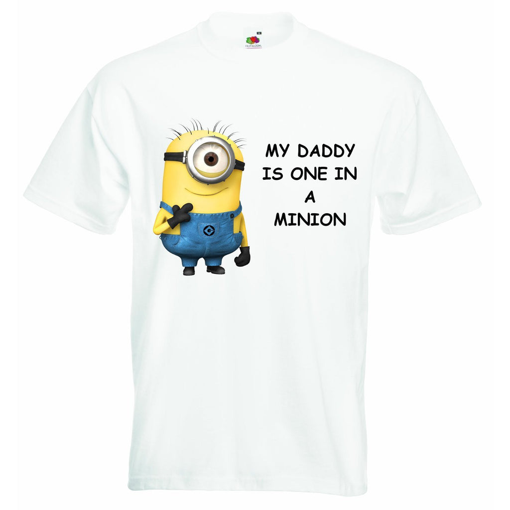 My Daddy is One in a Minion Baby T-shirt