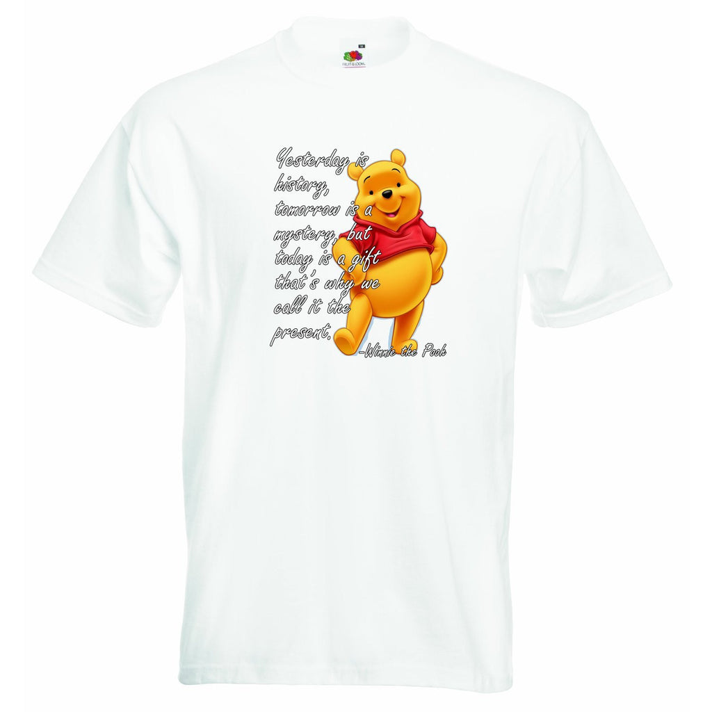 Yesterday is History Pooh Unisex T-shirt