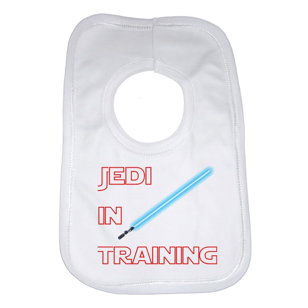 Jedi In Training Baby Bib