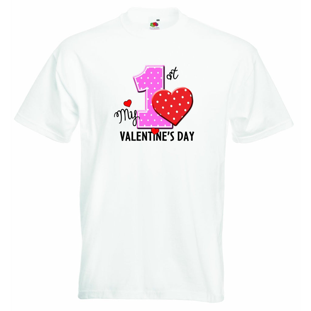 My First Valentines Day Baby T-shirt