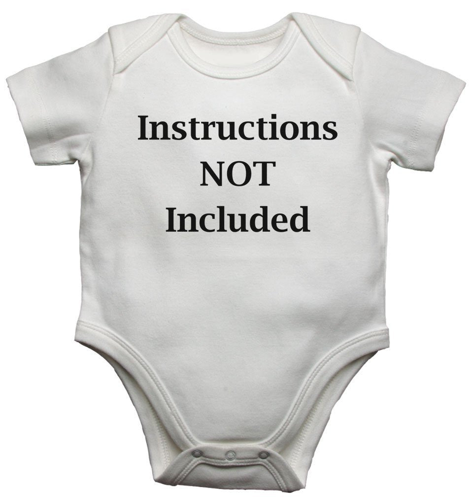 Instructions Not Included Baby Vests Bodysuits