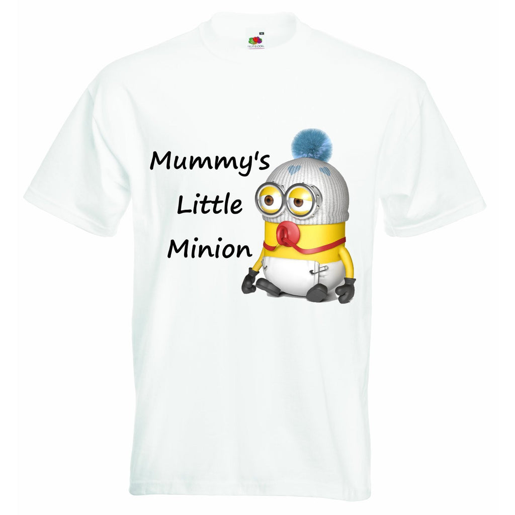 Mummys Little Minion Baby T-shirt