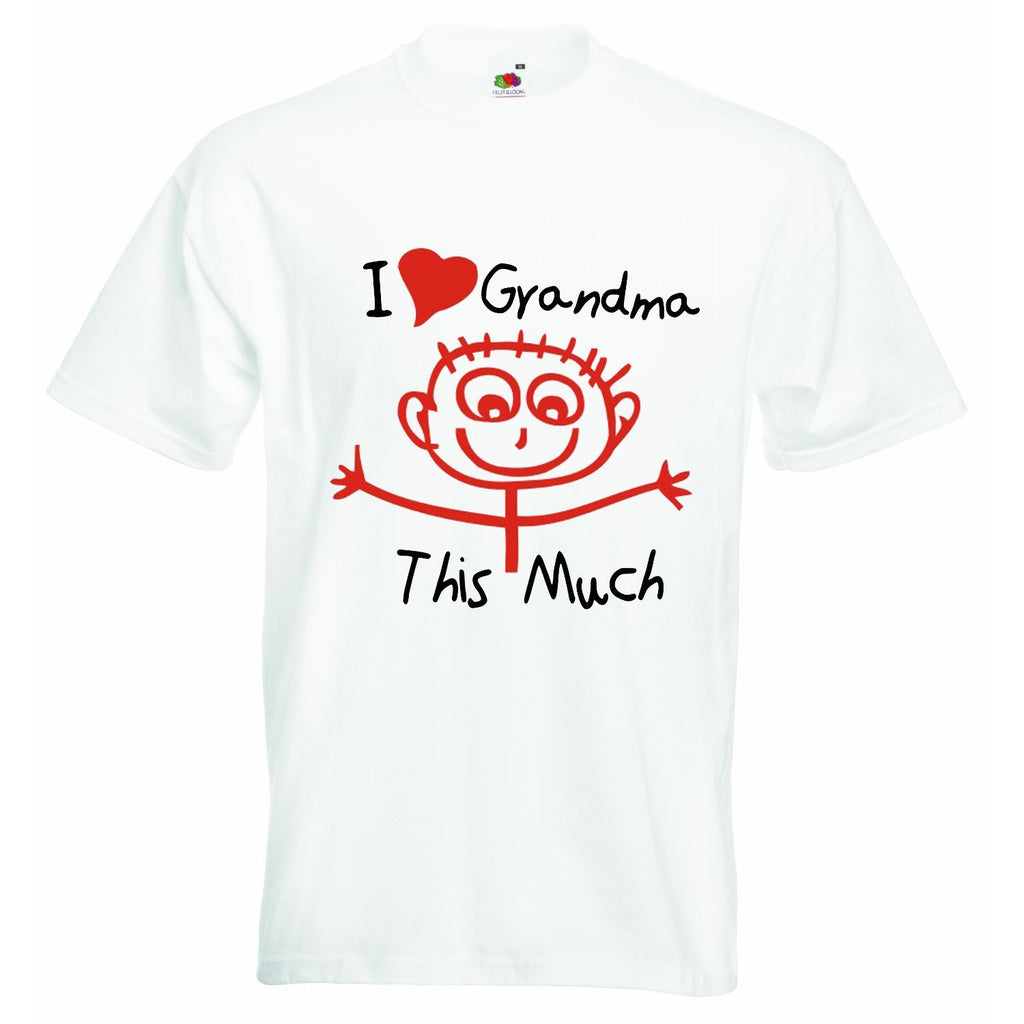 I Love Grandma This Much Baby T-shirt